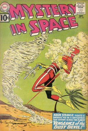 Cover for Mystery in Space #70