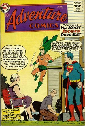 Cover for Adventure Comics #260