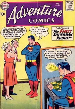 Cover for Adventure Comics #265