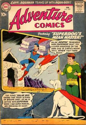 Cover for Adventure Comics #269