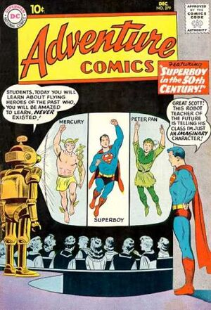 Cover for Adventure Comics #279
