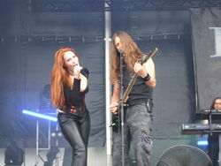 Epica Hellfest 2007 22