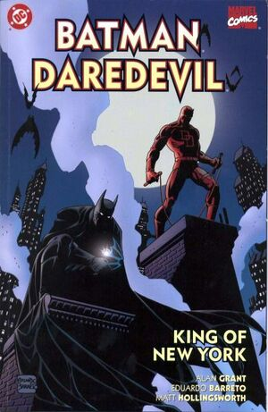 Cover for Batman Daredevil: King of New York #1