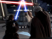 Dooku vs Skywalker & Kenobi