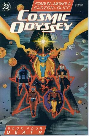 Cover for Cosmic Odyssey #4