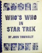 Who's Who In Star Trek original