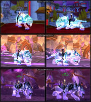 Spectral Tiger mount (4part)