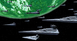 Outer rim Imperial fleet