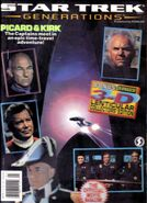 Star Trek Generations Official Movie Magazine Starlog Press cover