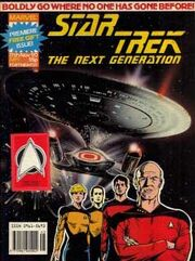 Marvel TNG magazine issue 1 cover