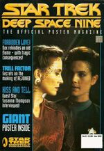 DS9 Poster Magazine issue 5 cover