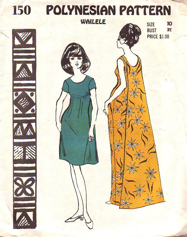 Polynesian150 Hawaiian Sewing Patterns