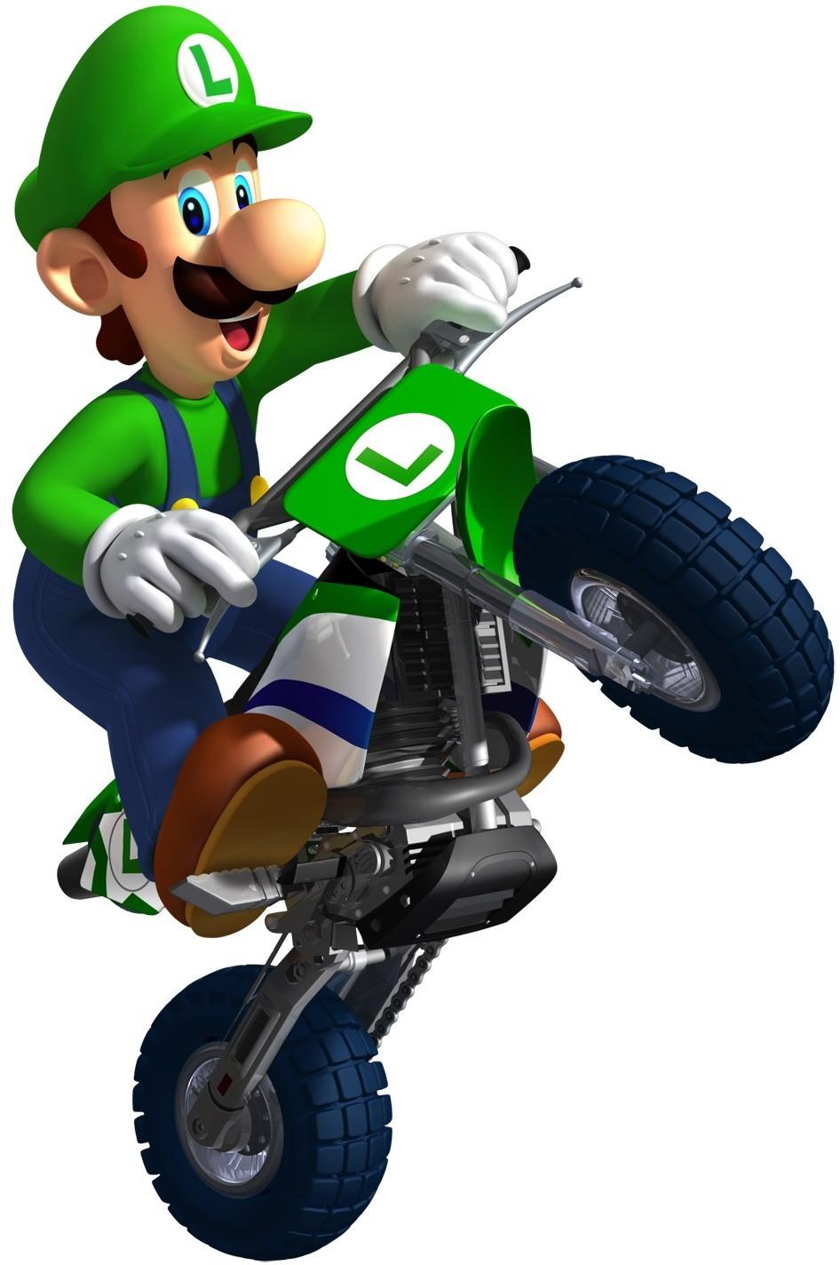 Luigi the mario kart racing wiki mario kart mario kart ds mario kart 64 and more - Mario kart wii voiture ...
