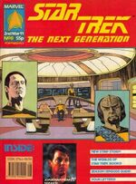 Marvel TNG magazine issue 8 cover