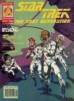 Marvel TNG magazine issue 12 cover