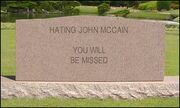 HatingMcCainTombstone