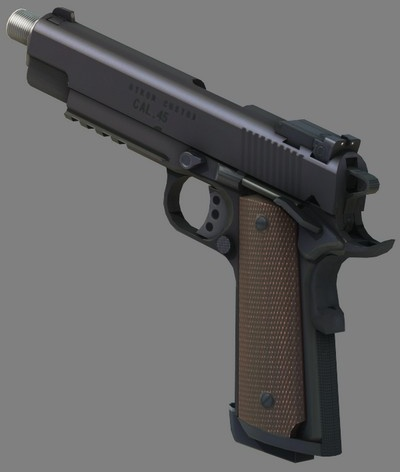 Omni - Metal Gear - As Hard as you want to be: Weaponry ... M1911 Custom Mgs4