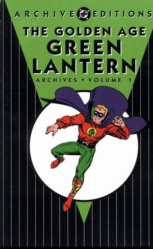 Cover for Golden Age Green Lantern Archives #1