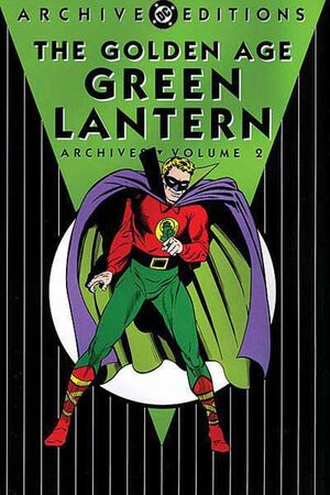 Cover for Golden Age Green Lantern Archives #2