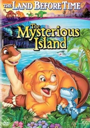 The Mysterious Island - DVD cover