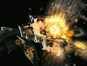 USS Defiant destroyed