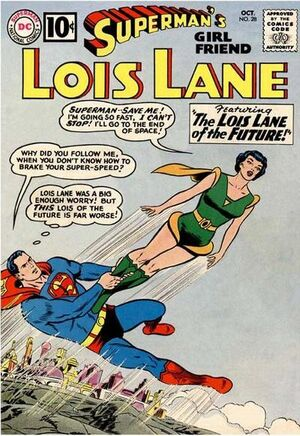 Cover for Superman's Girlfriend, Lois Lane #28