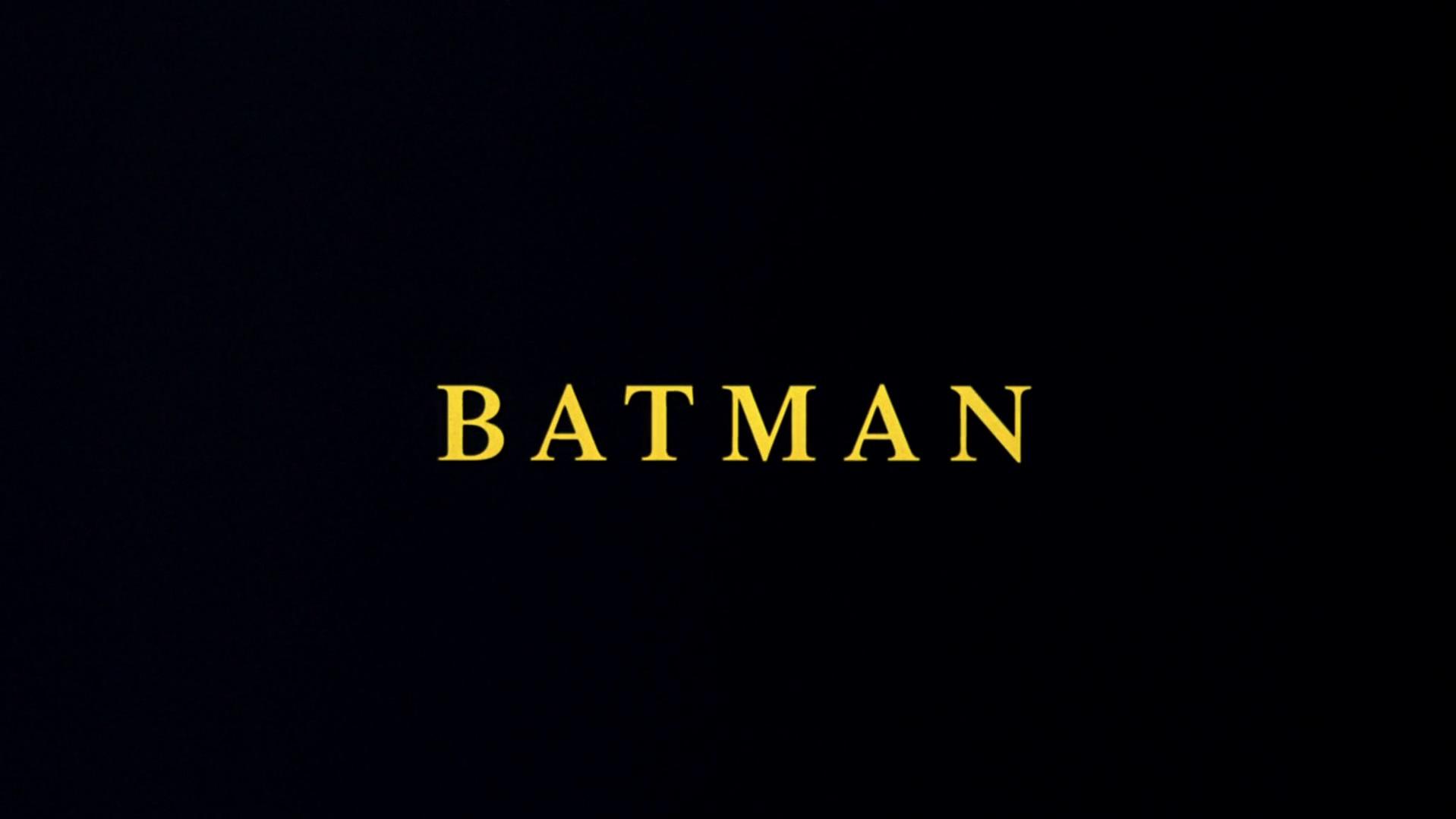 Batman (1989) - Batman Wiki