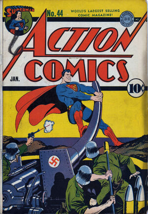 Cover for Action Comics #44