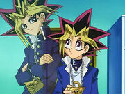 Yugi and Yami Yugi