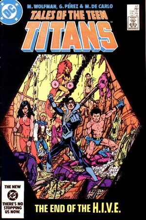Cover for Tales of the Teen Titans #47