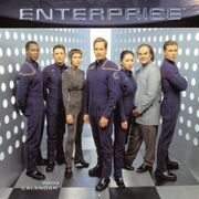 Star Trek Enterprise Calendar 2003