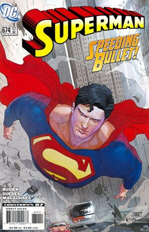 Cover for Superman #674