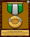 Golden Sled Medal