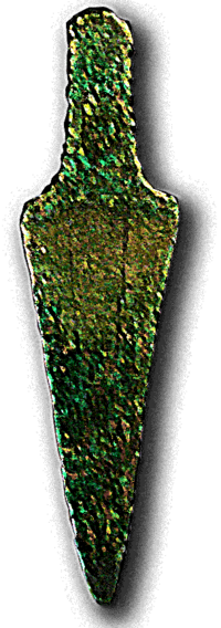 Copper tongue dagger (Bellbeaker)