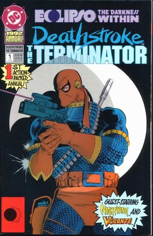 Cover for Deathstroke the Terminator Annual #1
