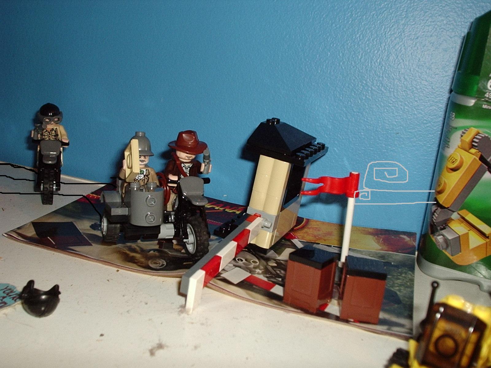 Кряк для Лего