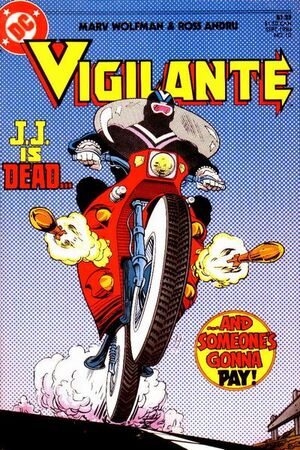 Cover for Vigilante #10