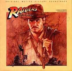 Raiders soundtrack LP