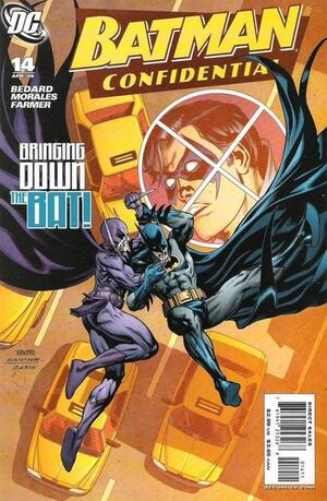 Cover for Batman Confidential #14 (2008)