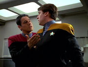 Chakotay and Dalby