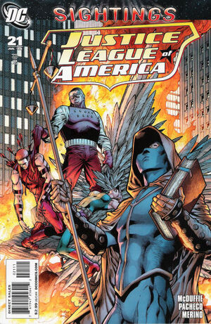 Cover for Justice League of America #21