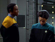 Tuvok addresses Gerron
