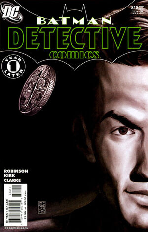 Cover for Detective Comics #818
