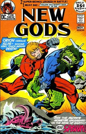 Cover for New Gods #5