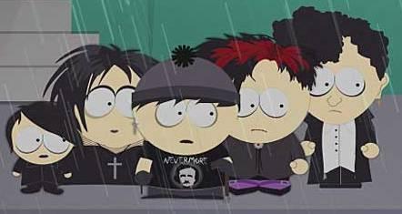 Raisins - South Park Archives - Cartman  Stan  Kenny  KyleGoth Stan South Park