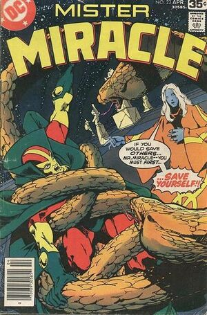 Cover for Mister Miracle #23