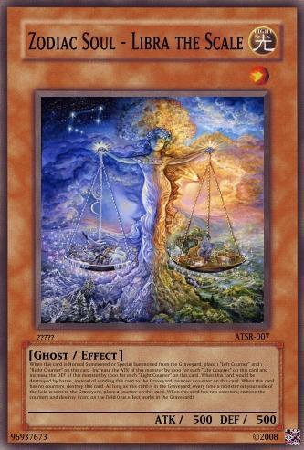 zodiac soul libra the scale yugioh card maker wiki