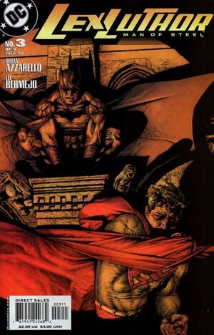 Cubierta para Lex Luthor: Man of Steel # 3