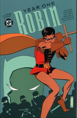 Cover for Robin: Year One #4
