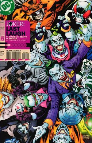 Cover for Joker: Last Laugh #2